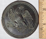 Civil War Union Breast Plate Eagle Medallion