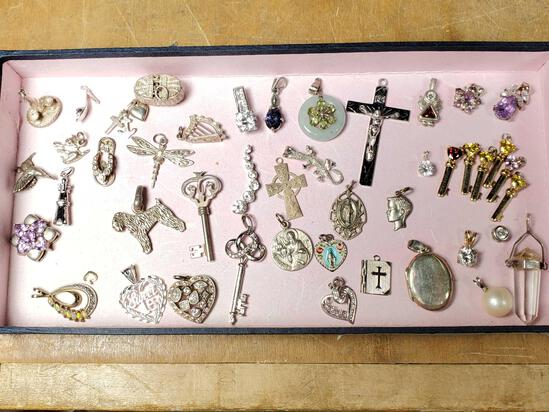 40+ Sterling Silver Charms & Pendants
