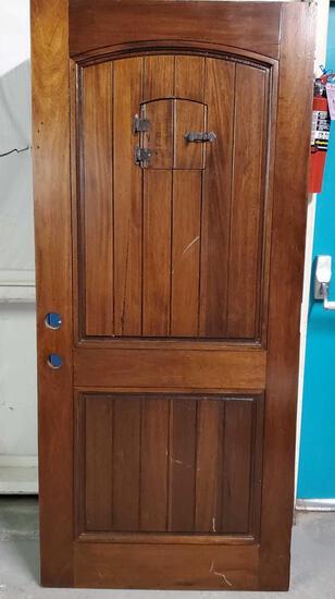Spanish Revival Castle Type Door