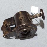 Antique Klaxon Plunger Push Button Ahooga Horn