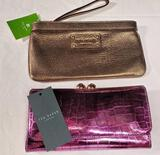 2 Designer Clutches New with Tags