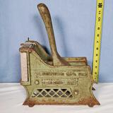 Bloomfield Mfg Co French Fry Cutter