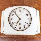 Art Deco Porcelain Deihl Wall Clock