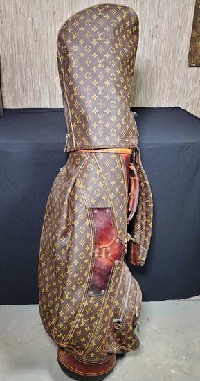 Louis Vuitton Golf Club Bag And 12 Yonex Right Hand Clubs