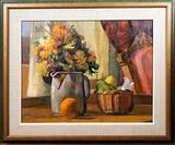 Richard Piccolo Oil on Canvas Still Life Painting