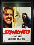 The Shining Movie Poster Signed by Jack Nicholson & Shelley Duvall