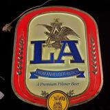 Anheuser-Busch LA Pilsner Beer Light