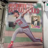 10 Years of Beckett Baseball Card Monthly Magazine Collection