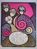 1967 The Byrds San Jose Civic Auditorium Concert Poster