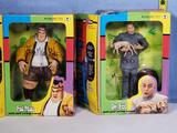 Signed Todd McFarlane Austin Powers Dr. Evil and Fat Man 9