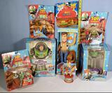 Woody and Buzz Lightyear Toy Story Toys in original Boxes and Packs