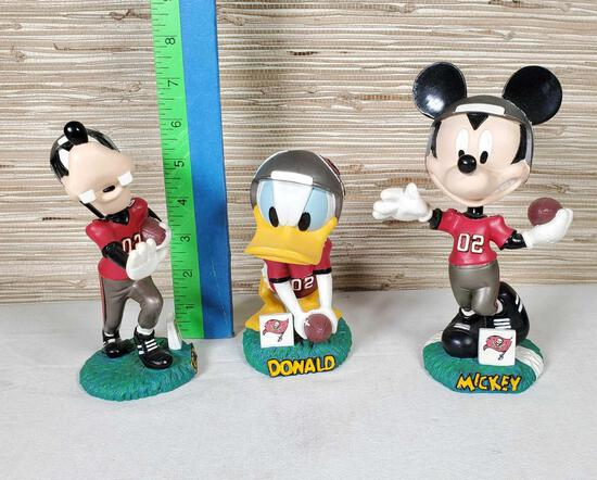 3 NFL Tampa Bay Bucs Disney Bobble Dobbles