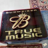 Electric Budweiser True Music Advertising Sign