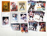 7 NHL Trading Cards incl. Rookie Pavel Bure