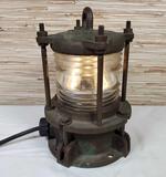 Modern Metal Mfg. Co., NY, NY Maritime Ship Light