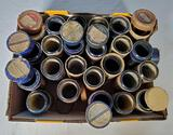 23 Edison Blue Amberol and Gold Moulded Cylinder Records