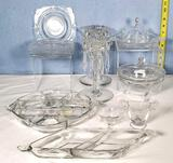 Heisey Queen Ann and Related Glass Serving Pcs