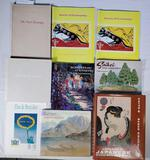 Collection of 8 Art Books Including Signed, Japanese, Gallery Collections and More
