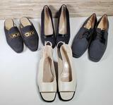 4 Pair of Salvatore Ferragamo Shoes