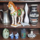 Mid Century Pottery and Decorator Items