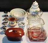 Vintage Bake Ware and Kitchen Items