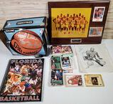 Collection of Autographed Basketball Items & Collector Cards