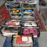 Lot Of 12 Die Cast Ertl 1/18 Scale American Muscle Cars