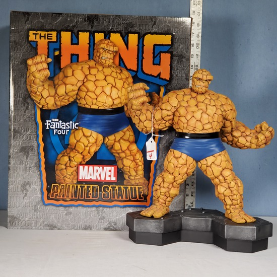 Marvel The Thng LE Figure Sculpted by Randy Bowen, #314 of 950