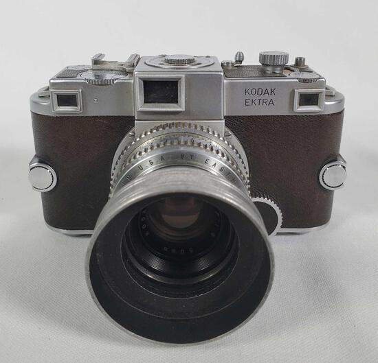 Rare Kodak Ektra 35mm Film Camera With 50mm 1.9 Ektar Lens