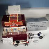 2 1/18 Scale Diecast Cars - Carousel 1 AJ Foyt 1961 Watson Roadster & CMC 1938 Mercedes-Benz W-154