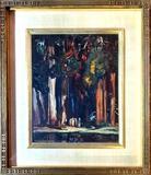 Charles Shepard Chapman (1879 - 1962) .Oil On Board