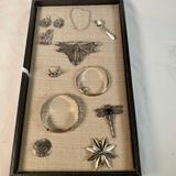 Lot Of 12 Pieces Of Sterling Silver Jewelry