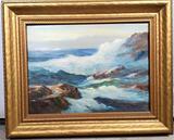 Frederick Alexander Pawla (1876 - 1964) Oil On Canvas Board