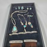 Lot Of Native American & Taxco Sterling Silver Jewelry