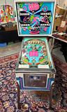 Vintage OXO Pinball Machine by Williams Electronics with Orig. Instruction Manual & Schematics