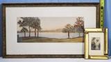 William Harris & J. R. Wilcox Hand Colored Florida Scenic Landscapes