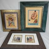 Biting Wit and Brazen Folly: Satirical Prints Lot Of 3.