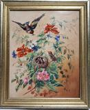 Victorian Hand Painted Fired Enamel 10