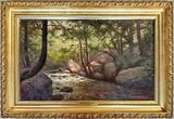 C. Muller Oil On Canvas