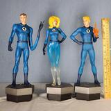 Marvel Fantastic Four 2012 3 Pc LE Set of Desk Sculptuters Mike Cusanelli/ Bowen #453 of 500