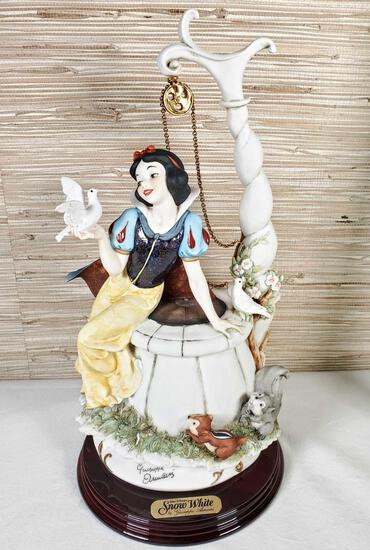 1992 Florence Limited Ed. Walt Disney's Snow White Figurine by Giuseppe Armani