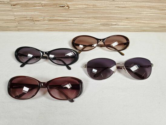 4 Pair of New Without Tags Designer Lulu Guinness Sunglasses