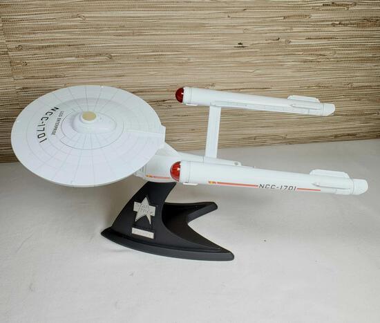 Franklin Mint Star Trek 25th Anniversary DieCast U.S.S. Enterprise