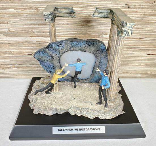 """Franklin Mint Star Trek Classic Episodes """"The City On The Edge of Forever"""""""