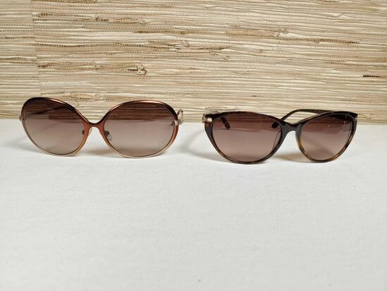 2 Pair of Designer Lulu Guinness Sunglasses New Without Tags