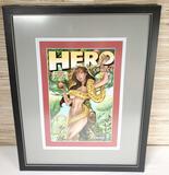 2009 Framed J Scott Campbell Hero Initiative Benefit Comic Book