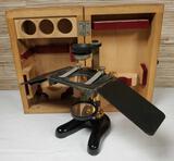 1920's Leitz Wetzlar Dissection Microscope in Orig. Wood Box