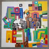 Phyllis Trager Hyman (1936-2011) Acrylic On Canvas 2003