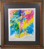 LeRoy Neiman Signed and Framed Exotic-Erotic Ball Litho