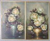 Pair Of Jeanette Dykman Paintings, South Africa 1938-2019